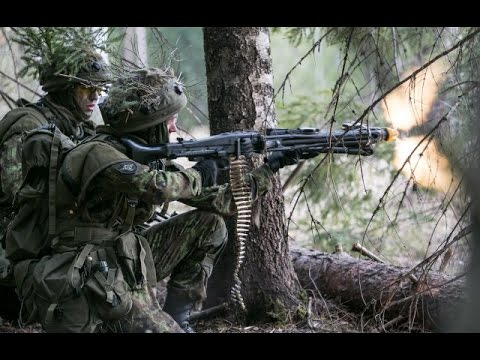 watch US Army vs Estonian Army - Winter Warfare Training