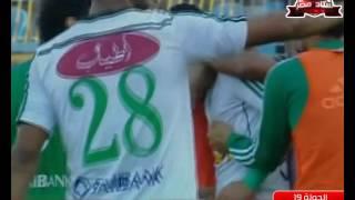 احمد جمعة يسجل هدف المصري الثاني في مرمى مصر للمقاصة