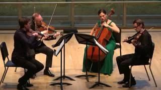 """JANÁČEK: String Quartet No. 2, """"Intimate Letters"""" - ChamberFest Cleveland (2016)"""
