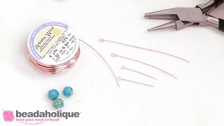 How to Make an Eye Pin from Wire