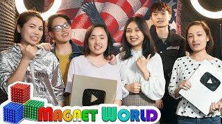 How To Make A Magnet World's Video