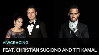 Fasten Your Wristbelt: Lewis Hamilton, Christian Sugiono and Titi Kamal