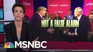 Donald Trump Exposes Truth of Anti-Abortion Politics | Rachel Maddow | MSNBC