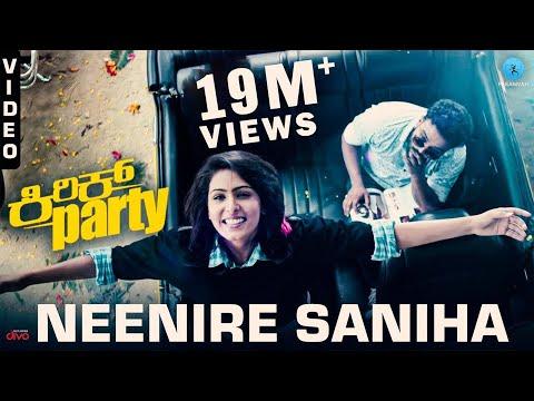 Neenire Saniha - Video Song | Kirik Party | Rakshit Shetty, Samyuktha Hegde | Rishab Shetty