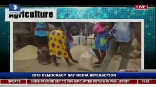 Ebonyi State Governor Holds Democracy Day Executive Media Chat Pt.7