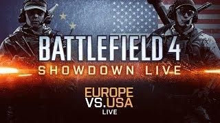 BATTLEFIELD 4 USA VS EUROPE SHOWDOWN FINAL MATCH - XBOX ONE GAMEPLAY (EPIC!!!)
