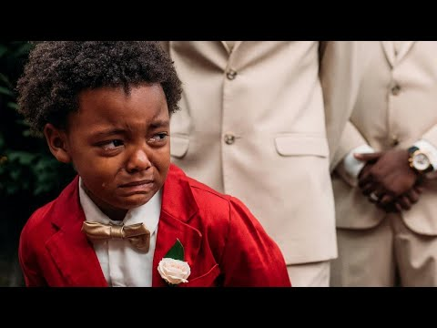 Xxx Mp4 Boy 5 Cries Tears Of Joy Watching Mom Walk Down The Aisle At Wedding 3gp Sex