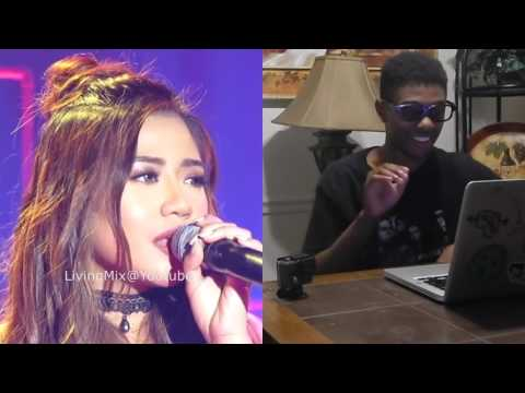 Morissette Amon on MYX LiVE (Raw) I Wanna Know What Love Is Reaction