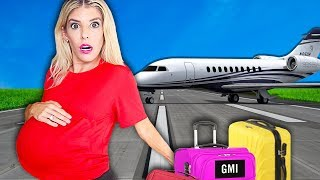 My FIRST Trip PREGNANT! (WORST Pregnancy 24 Hour Challenge in Hawaii) | Rebecca Zamolo