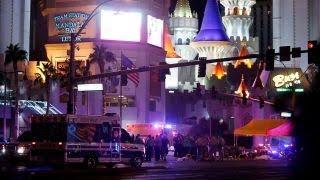 Crowds push down gates, fences to escape Las Vegas attack