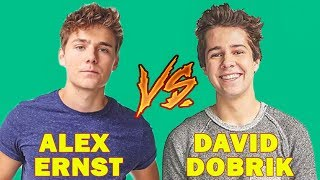 David Dobrik Vines Vs Alex Ernst Vines (W/Titles) Best Vine Compilation 2017