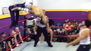 [Free Match] Manny Martinez vs. Sebastian Cage | Beyond at New England Pro Wrestling Academy
