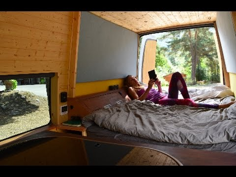 How to convert a Van in to an Off-Grid Camper in 17 Days!