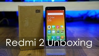 Xiaomi Redmi 2 Unboxing & Hands On Overview