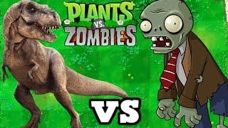 T-REX VS ZOMBIES MOOD PLANTS VS ZOMBIES