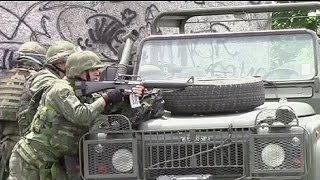 Brazilian soldiers in gun battle with suspected gang members - no comment