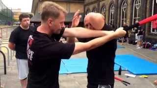 Baseball Bat Defence with Ricky Manetta - MMA Krav Maga