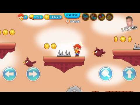 Super Jabber Jump Android Gameplay World 05-11