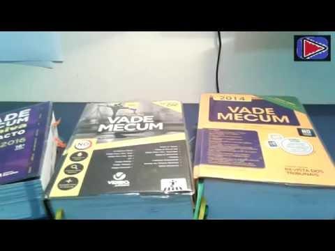 Vade Mecum: Saraiva Compacto, Verbo Jurídico e Revista dos Tribunais - Vlog TiagoNunes - EP 19/16