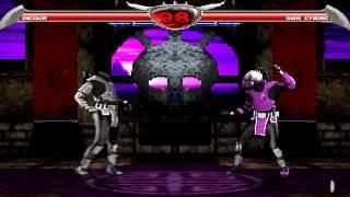 Mortal Kombat Chaotic - The Hara Kiri (suicide fatality) demonstration
