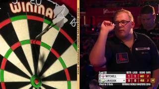 Darts World Masters 2016 Last 32 Mitchell vs Lukasiak