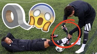 SHOCKING DUCT TAPE FOOTBALL BOOT EXPERIMENT!