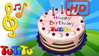 School for Kids |  TuTiTu Songs | Happy Birthday Song Ver. 1 | Songs for Children with Lyrics