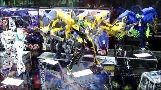 Gundam Bandai 2016 New York Toy Fair 2016 Comic Con