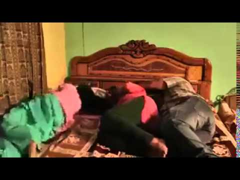 sleepy father and mother slaped by duaghter suddenly in sleeping..mother and father fights..funny