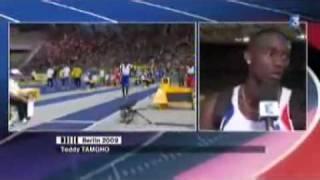 Tamgho En Finale Du Triple Saut   Mondiaux D'athlétisme 2009   France 3