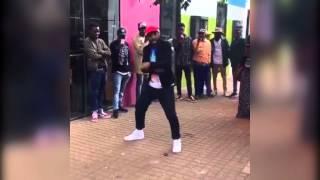 Okmalumkoolkat Dancing to Gqom