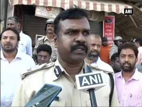 Bengaluru Clash erupts between garments workers, cops