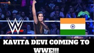 KAVITA DEVI COMING TO WWE!! (First Indian Women Wrestler)