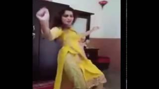 Desi Girl Bed Room Dance Home Alone