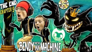 KING BENDY & the GLITCH Machine! FGTEEV Gurkey Turkey Chapter 5 Ending (The Last Reel Ink)