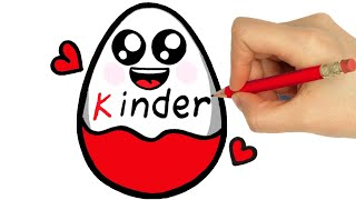 HOW TO DRAW KINDER