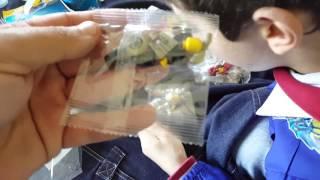 Unboxing lego cinesi fake minifigurei no origilans