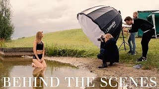 Behind The Scenes | Summer Beach Photo Shoot