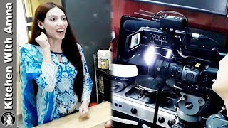 Behind the Scene TV Interview Report - Kitchen With Amna