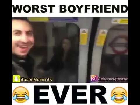 Boyfriend pressed Girlfriend