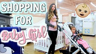FIRST TIME SHOPPING FOR BABY GIRL!