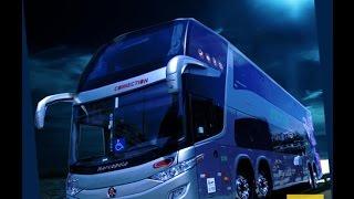 O maior ônibus de dois andares do Brasil