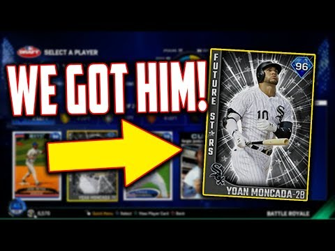 Xxx Mp4 WE DRAFTED THE NEW 96 YOAN MONCADA FUTURE STARS CARD MLB The Show 17 Battle Royale 3gp Sex