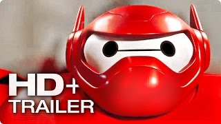 BAYMAX Trailer Deutsch German | Big Hero 6 2015 [HD+]