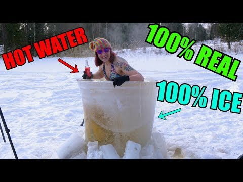Xxx Mp4 WORLD S FIRST ICE HOT TUB FULL OF HOT WATER 3gp Sex
