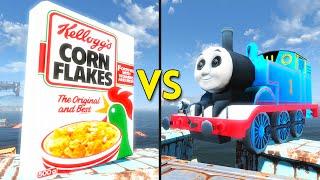 Fallout 4 - 100 KELLOGGS vs 50 THOMASES - Battles #19