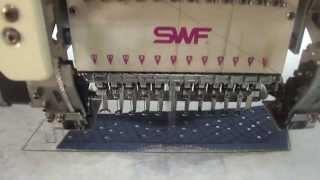 SWF 15 KAFA SA SERİSİ NAKIŞ MAKİNASI