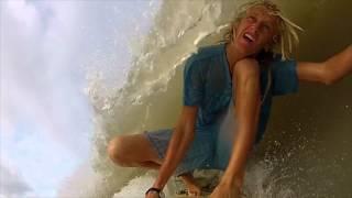 Clean Up Hurricane Barrels - GoPro Surfing - Board Mount