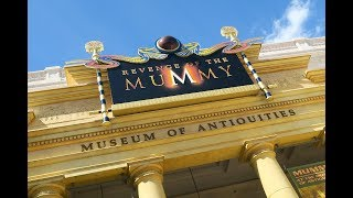 Revenge of the Mummy (Queue and FULL RIDE POV) at Universal Studios Orlando 2018