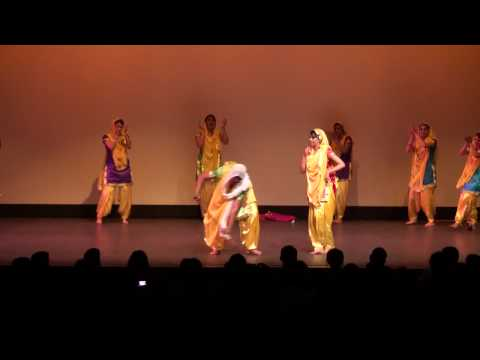 UCSB Visions 2009 - Girls Bhangra and Giddha (HD)
